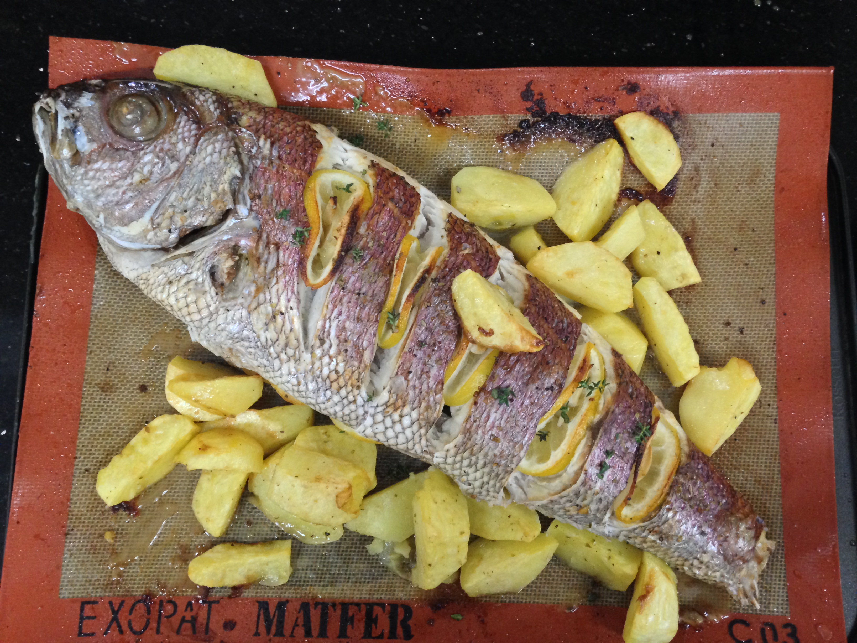 how to cook red snapper in the oven