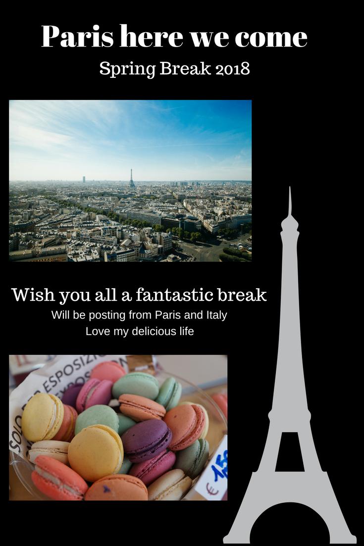 Paris here we come